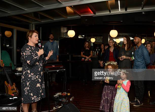 Founder/Executive Director Sera Bonds attends the Circle of Health International Fundraiser at McCarren Park on November 14 2015 in New York City