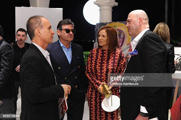 Founder/President of the Brant Foundation Peter Brant and Svetlana Uspenskaya attend the Best Buddies Art Friendship Auction at a private residence...