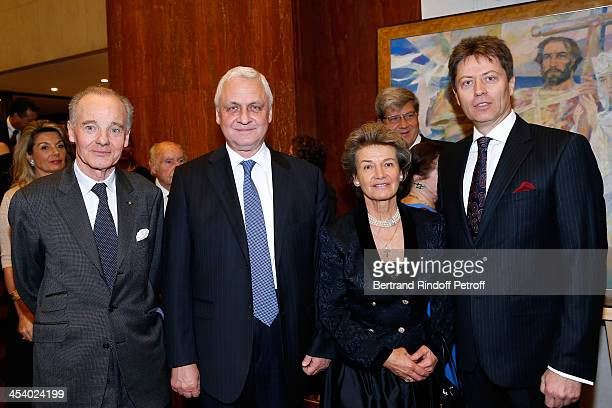 FounderPresident of the European Association of Saint Vladimir Prince Constantin Mourousy Ambassador of Russia Alexandre Orlov Princess Suzanne...