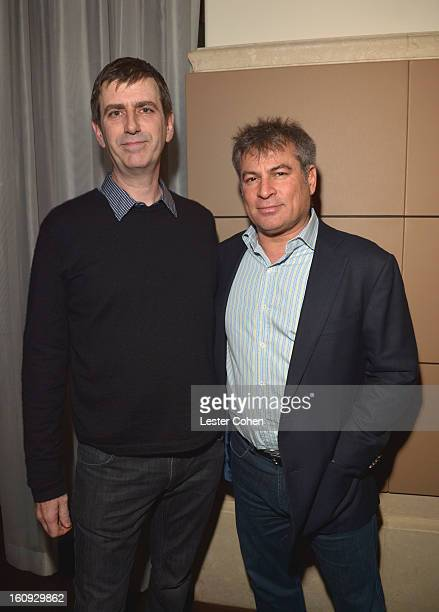 Founders and CoCEOs of AAM Mark Beaven and Andy Kipnes attend the Friends N Family Dinner Hosted by Mark Beaven and Andy Kipnes at Scarpetta on...