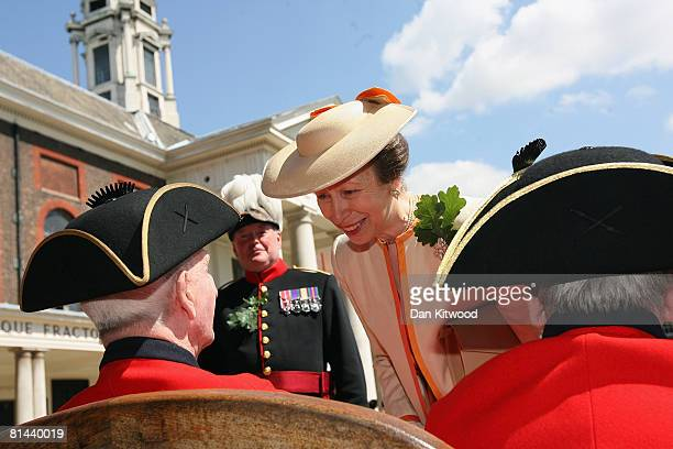 'Founders Day Parade' takes place at Chelsea Royal Hospital, on June 5, 2008 in London, England. The Royal Hospital Chelsea, a home for British army...