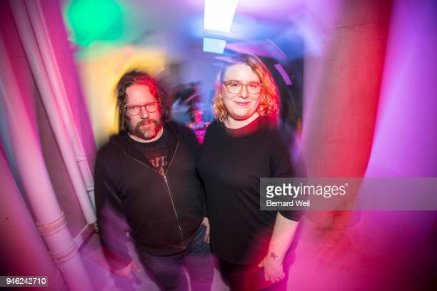 TORONTO ON APRIL 13 TMAC founders Henry Faber and Jennie Robinson Faber took part in its first public event Friday night The Toronto Media Arts...