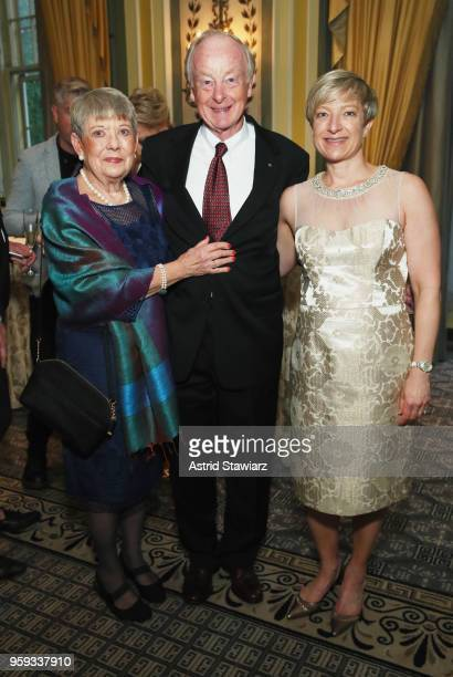 Founders Melissa Nielsen Don Nielsen and Karen Andonian attend the National Eating Disorders Association Annual Gala 2018 at The Pierre Hotel on May...