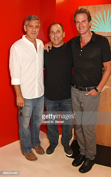 Founders of Casamigos Tequila George Clooney Mike Meldman and Rande Gerber attend as Casamigos founders Rande Gerber George Clooney and Mike Meldman...