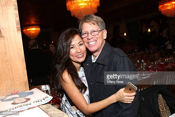 Founders of ChefDance Mimi Kim and Kenny Grisworld attend ChefDance 2015 Presented By Victory Ranch And Sponsored By Merrill Lynch Freixenet Anchor...