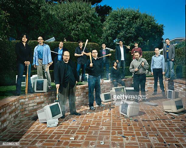 Founders of companies based on the internet Wikipedia Craigslist Flickr Wordpress Digg Netvibes Blogger/Odeo Writely delicious Lastfm Technorati...