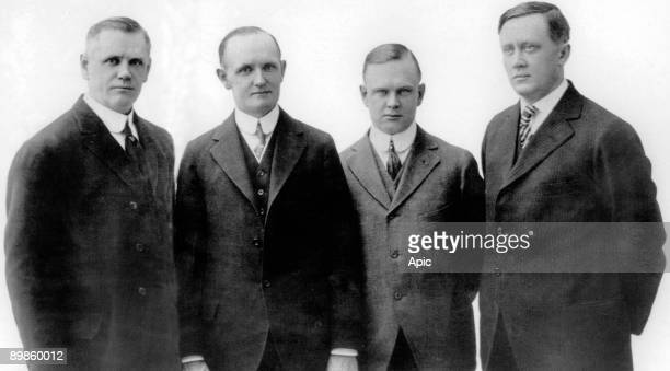 founders of the Harley Davidson Motor Company William Davidson Walter Davidson Arthur Davidson et Bill Harley