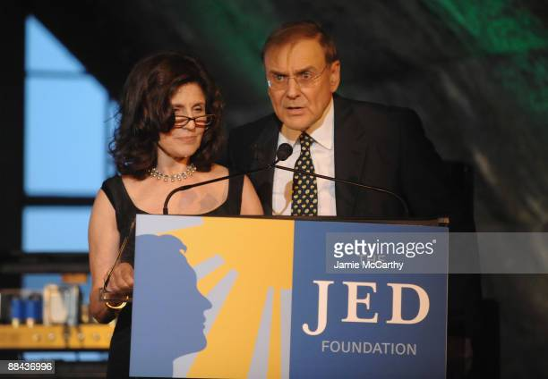 Founders of The Jed Foundation Donna Satow and Phil Satow attend the 8th Annual Jed Foundation Gala at Guastavino's on June 11 2009 in New York City