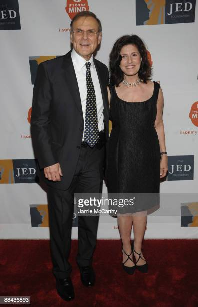 Founders of The Jed Foundation Phil Satow and Donna Satow attend the 8th Annual Jed Foundation Gala at Guastavino's on June 11 2009 in New York City