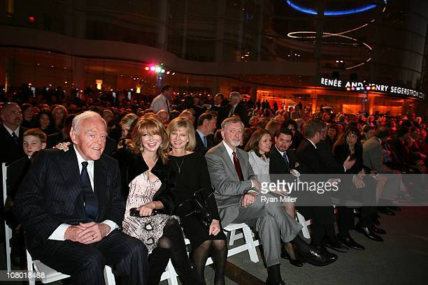 Founding Chairman Henry Segerstrom Elizabeth Segerstrom and Sandy Segerstrom Daniels attend the Orange County Perfroming Arts Center's renaming...