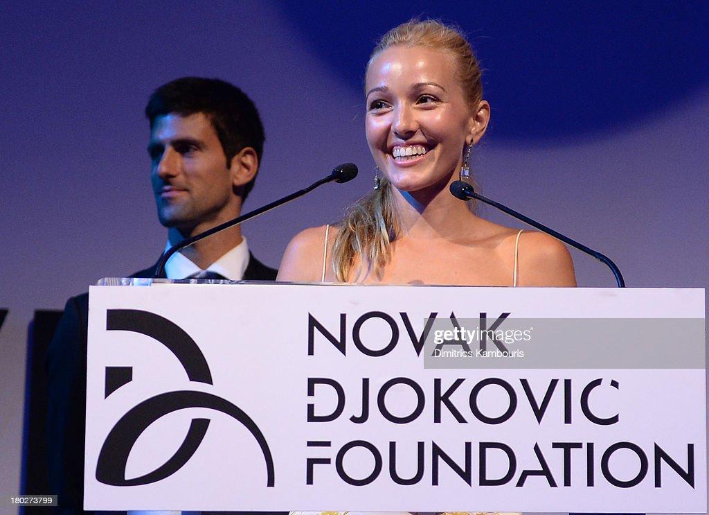 The Novak Djokovic Foundation New York Dinner - Inside : News Photo