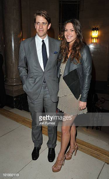 Founding Director of Quintessentially Ben Elliot and guest attend the Quintessentially Awards at Freemasons Hall on June 1 2010 in London England