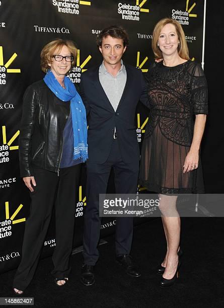 Founding director of the Sundance Institute's Feature Film Program Michelle Satter filmmaker Benh Zeitlin and Executive director Sundance Institute...