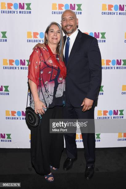 Founding Executive Director of Bronx Children's Museum Carla Precht and Bronx Borough President Ruben Diaz attend the Bronx Children's Museum Gala at...