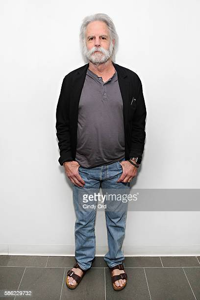 Founding member of the Grateful Dead musician Bob Weir visits the SiriusXM Studios on August 5 2016 in New York City