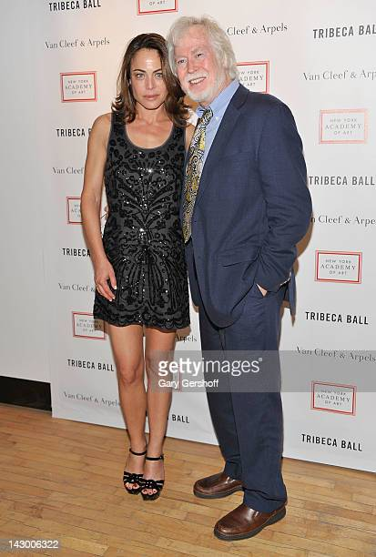 Founding member of The Lovin' Spoonful Joe Butler and actress Yancy Butler attend the 2012 Tribeca Ball at the New York Academy of Art on April 16...