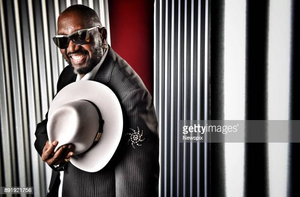 MELBOURNE VIC Founding member of The Temptations Otis Williams poses during a photo shoot in Melbourne Victoria