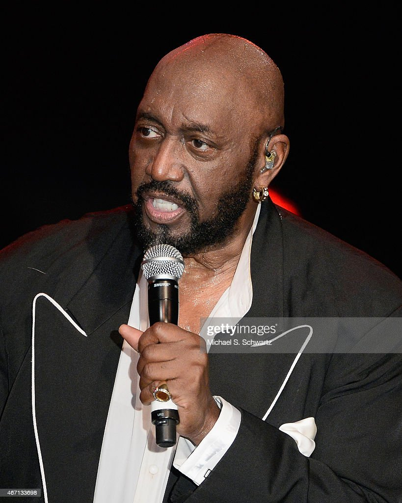 Founding member Otis Williams performs during The Temptations appearance at The Canyon Club on March 20, 2015 in Agoura Hills, California.