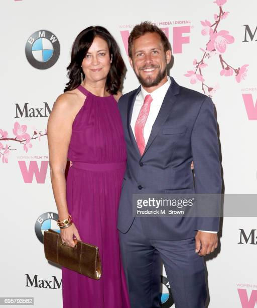 Founding partner Jane Fleming and guest at Women In Film 2017 Crystal Lucy Awards presented By Max Mara and BMW at The Beverly Hilton Hotel on June...