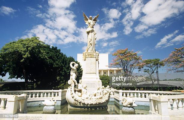 Fountain and ruben dario national theatre