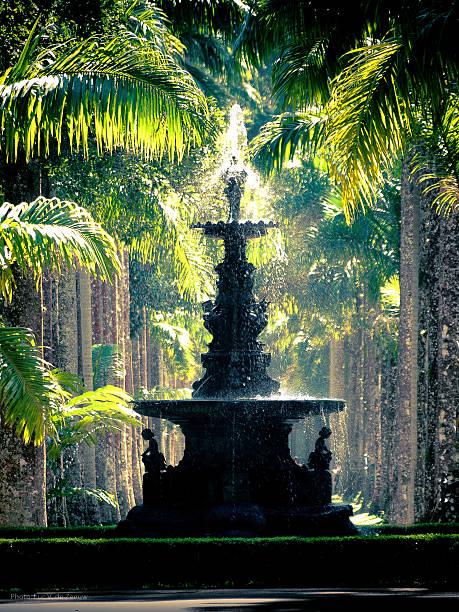 Fountain at  the Rio de Janeiro botanical gardens