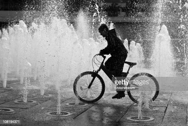Fountain Cyclist
