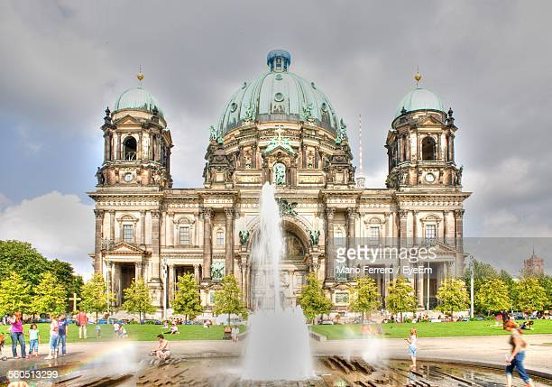 Fountain In Front Of Berlin Cathedral