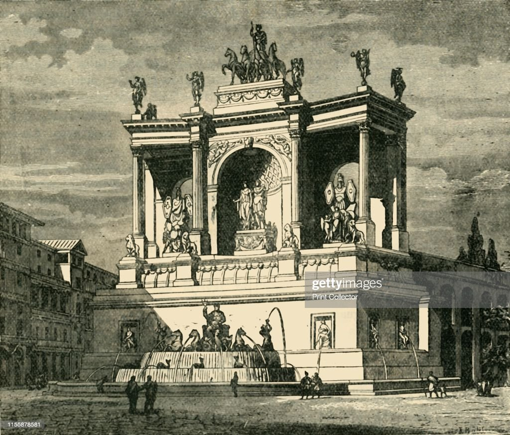 Fountain Of Alexander Severus : News Photo