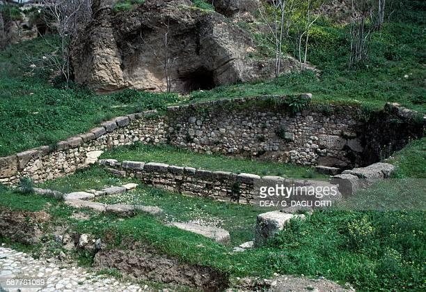 Fountain Of Dirce in Thebes Greece Mycenaean civilisation 4th century BC