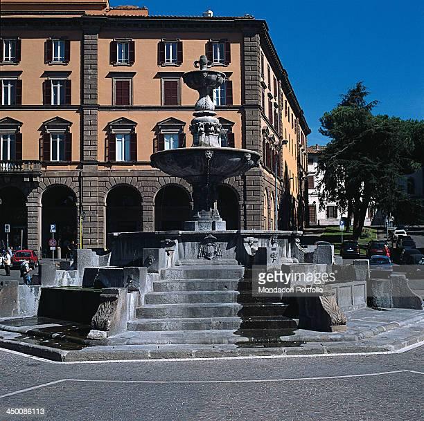 Fountain of Piazza della Rocca by Barozzi Jacopo known as Vignola 16th Century