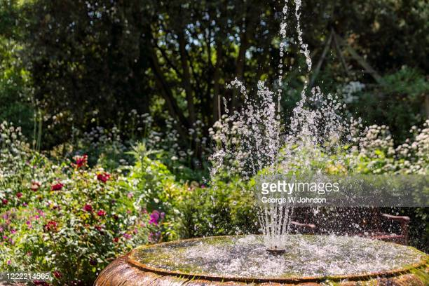 fountain of summer - fountain stock pictures, royalty-free photos & images