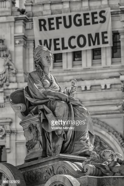 Fountain of the Cibeles goddess (Madrid)