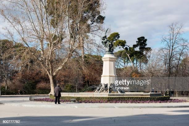 Fountain of the Fallen Angel, Retiro Park, Madrid