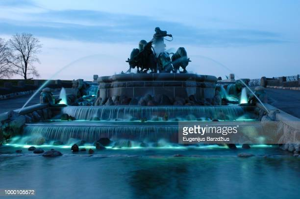 fountain - oresund region stock photos and pictures