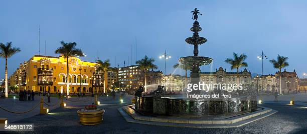 Fountain Plaza Lima