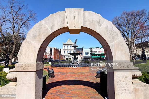 Fountain Square in downtown Bowling Green, Kentucky