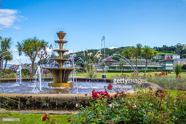 Fountain, Winter Gardens, Sea Front, Rothesay