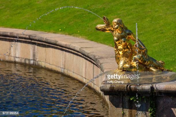 Fountains of Lower Garden of Peterhof