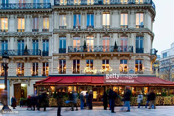 Fouquet's Barriere on the Champs-Elysees