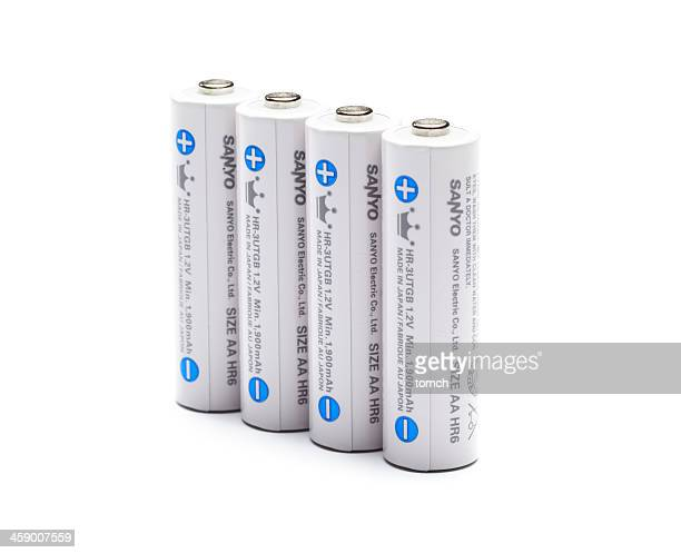 Four AA size battery