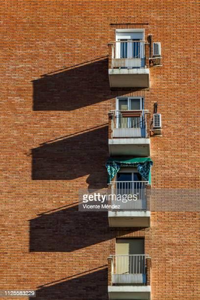 Four balconies