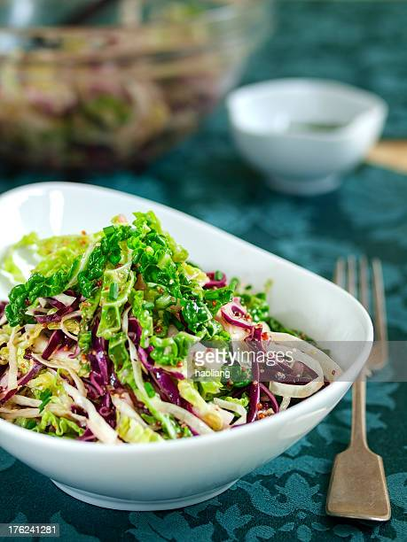 Four cabbage coleslaw