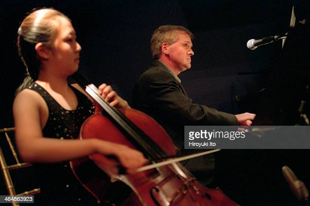 Four Centuries of Swing at Studio 54 on Wednesday night September 5 2001This imageJoanne Choi and Kenneth Merrill performing Couperin
