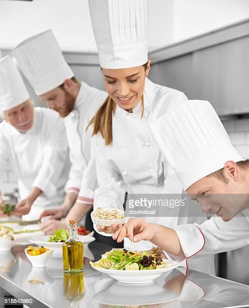 Cuatro chef Preparamos ensaladas