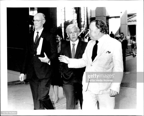 ABC Four Corners Royal CommissionMr George Freeman after the commission June 30 1983