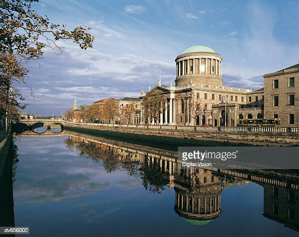 Four Courts and River Liffey, Dublin, Ireland