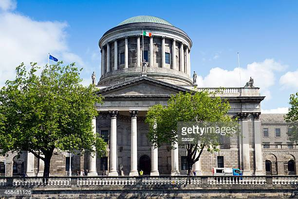 four courts dublin, ireland - dublin republic of ireland stock pictures, royalty-free photos & images