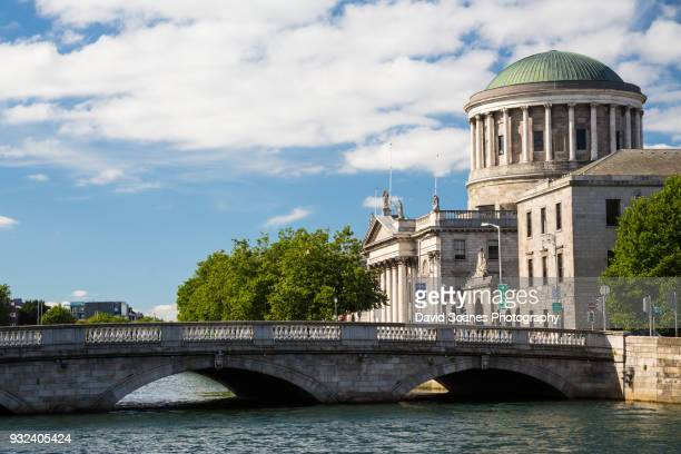 four courts in dublin city, ireland - dublin stock pictures, royalty-free photos & images