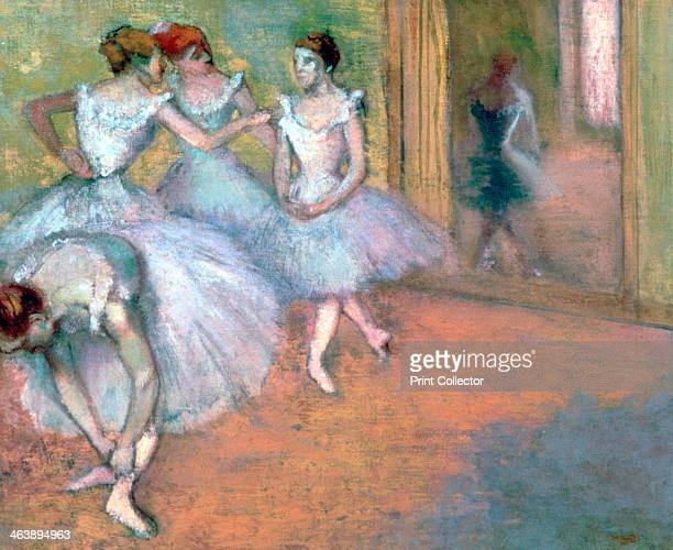 'Four Dancers in the Foyer' late 19thearly 20th century From a private collection