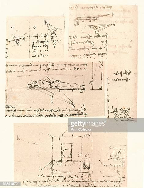 Four drawings illustrating the practice of painting c1472c1519 From The Literary Works of Leonardo Da Vinci Vol 1 by Jean Paul Richter PH DR [Sampson...